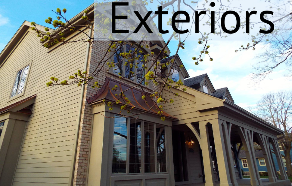 D.F. Painting paints home's exteriors.