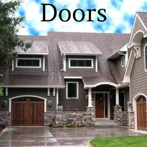 D.F. Painting paints and stains all exterior doors