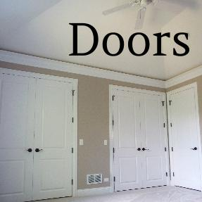 D.F. Painting paints all of your home's doors