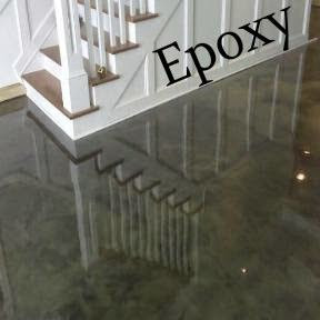 D.F. Painting paints epoxy floors. Epoxy is perfect for basement and garages.