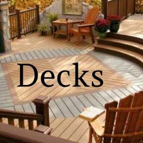 D.F. Painting finishes and refinishes decks