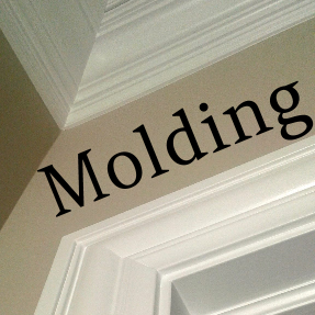 D.F. Painting paints all your home's molding, trim, and millwork