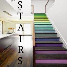 D.F. Painting paints all stairs and creates custom stains